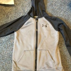 Under Armour zip up sweatshirt. Size medium.